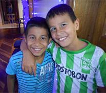 happy children at Casa Walsingham